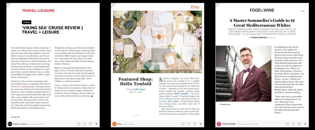 Zirkumflex — Magazine templates for Flipboard